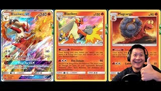 BLAZIKEN Deck From Dragon Majesty, Total Bench Damage Spread
