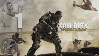 Call of Duty Advanced Warfare Прохождение На Русском Часть 1 Боевое крещение