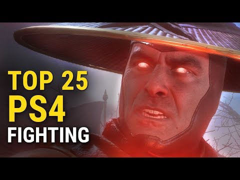 Top 25 PS4 Fighting Games Of All Time | Whatoplay