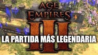 Repeat youtube video JUGANDO Age of Empires 3 - La Partida más Legendaria