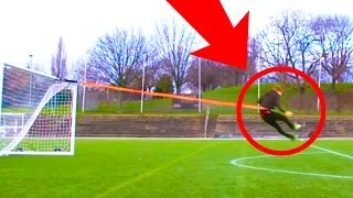 EXTREME BUNGEE FOOTBALL CHALLENGE