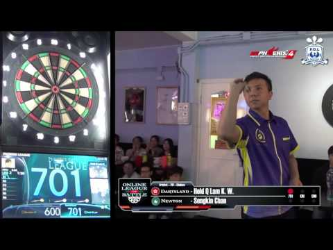 Online League Battle - Dartsland (HK) VS Newton (MO) Game 4