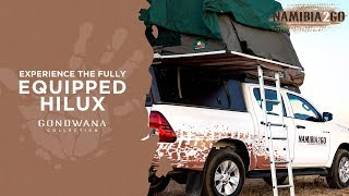Namibia2Go - Experience The Fully Equipped Hilux