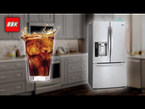 Lg French Door Refrigerator In Door Ice Maker Operatio