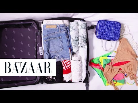 How To EASILY Pack For A Week  Harper&39;s BAZAAR