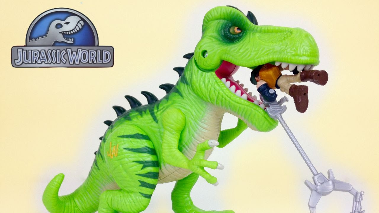 Juric Park By Playskool Tracking The T Rex Electronic Set Mip