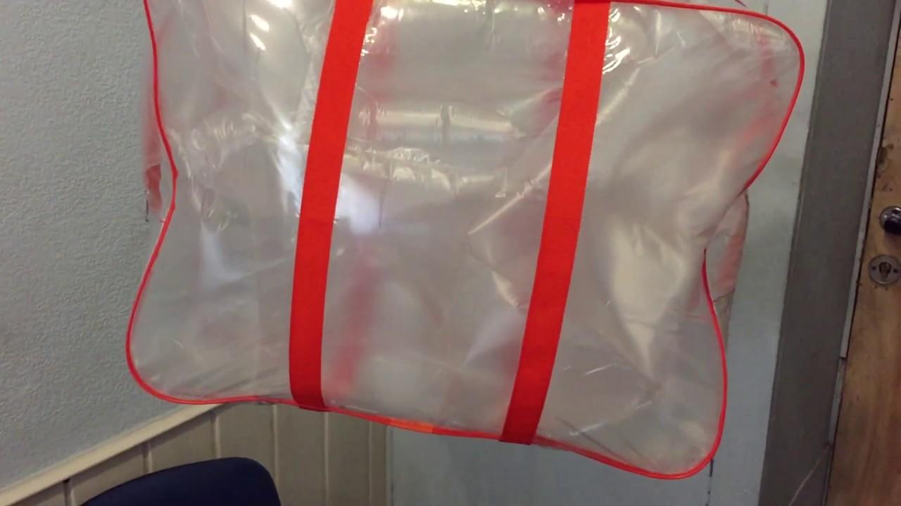 Сумка 58х46х20 пвх ручки через дно. Купить прозрачные сумки в роддом пустые, сумка пвх, в роддом, для роддома, самой, что взять, для беременных,