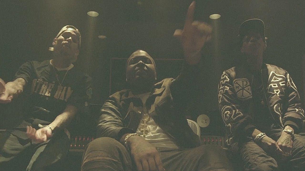 Sean Kingston - Beat It (ft. Chris Brown & Wiz Khalifa) (Official Video) [In Studio]