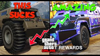 What's The BEST Armored Vehicle in GTA Online | Ultimate GTA Online Vehicle Tier List & Guide