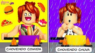 Roblox - COZINHANDO NA CHUVA (Cooking in the Rain)