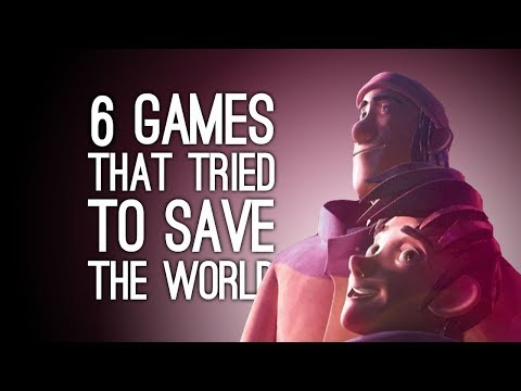 6 Games That Tried To Save the World for Real