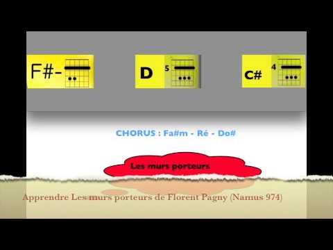 Apprendre les murs porteurs part1 de florent pagny guitar lesson namus974 - Youtube les murs porteurs ...