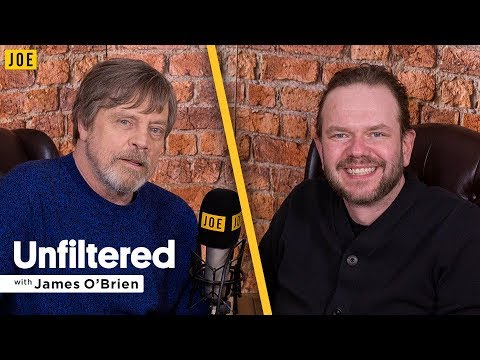 Mark Hamill  on Star Wars & Carrie Fisher  Unfiltered with James O'Brien 24