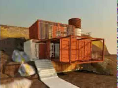 Casa hecha de contenedores usados youtube - Casa hecha de contenedores ...