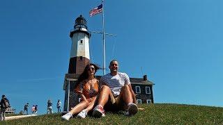 Заброшенная военная база в США. Самый старый маяк штата Нью-Йорк. Монтаук