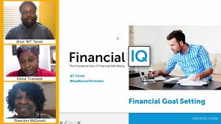 Financial IQ: Financial Goal Setting