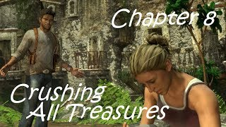Uncharted Drake's Fortune - Crushing Difficulty Chapter 8 All Treasures No Commentary