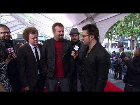 AMA 2010 Interview Casting Crowns