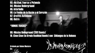 07.- GRAFFITI ACTIVISMO - LA KRUDA REALIDAD (EL DEMO) - LAVOZEKRETA