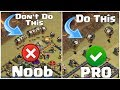 Gambar cover How to Attack Like a Pro { NOOB TO PRO } - Clash of Clans