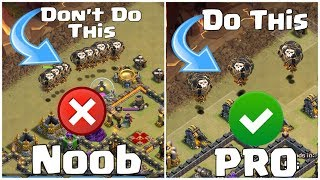 How to Attack Like a Pro { NOOB TO PRO } - Clash of Clans
