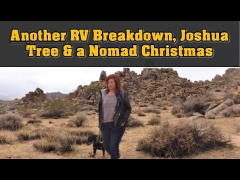 RV Living: Breakdowns, Joshua Tree and my Nomad Christmas!