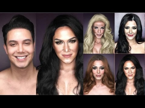 Miss Universe: PAOLO BALLESTEROS Transformations - Imitating the Faces - 65th Miss Universe