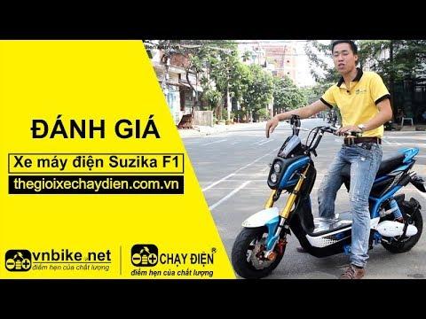 Đánh giá xe máy điện Suzika F1