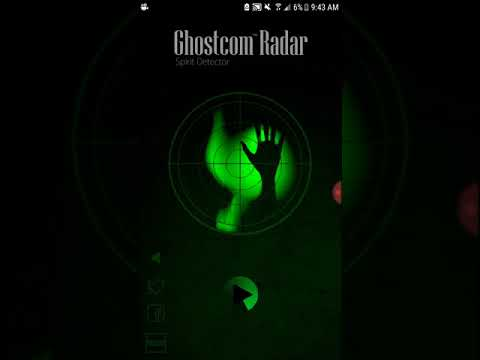 Ghostcom radar ghost detector! (My first vid!)