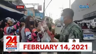 24 Oras Weekend Express: February 14, 2021 [HD]