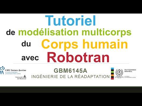 Tutoriel Robotran  - Part 2   - modelisation robotran