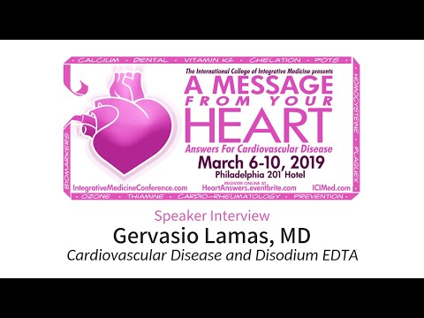 Cardiovascular Disease and Disodium EDTA (ICIM Conference '19)