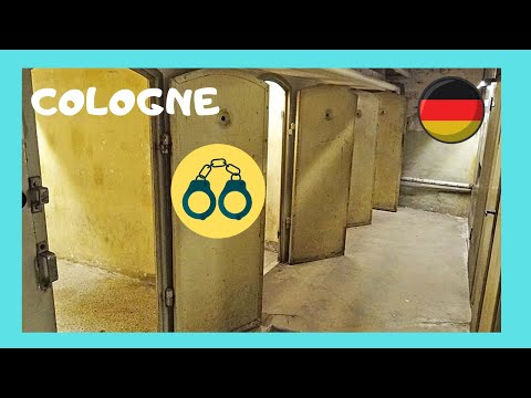 COLOGNE, the GESTAPO and NAZI torturing and killing building (GERMANY)