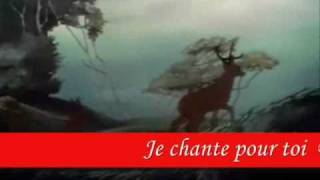 Bambi, je chante pour toi PAROLES.