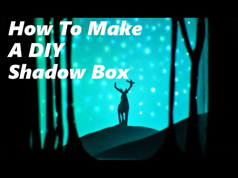 How To Make A DIY Shadow Box