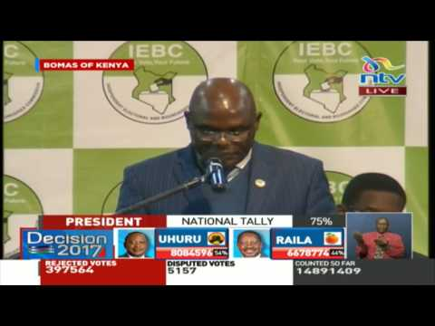 IEBC instructs all officials to submit Forms 34B by Friday noon