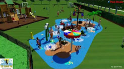 My Splash Pad James Island Jacksonville, FL design and build splashpad turnkey community water park
