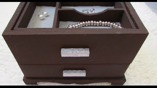 Diy - Jewelry Box {mother's Day Gift}
