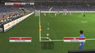PES 2014 - Arsenal vs Chelsea Gameplay PC