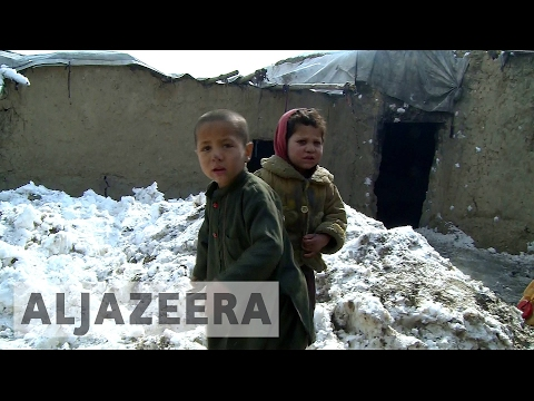 Afghanistan's displaced face harsh winter