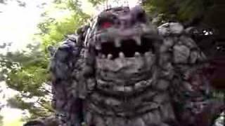 Rock Monster in the Dells