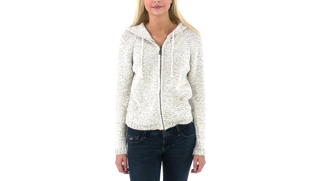 O'Neill Women's Sun Valley Zip Up Sweater With Hood | SwimOutlet ...