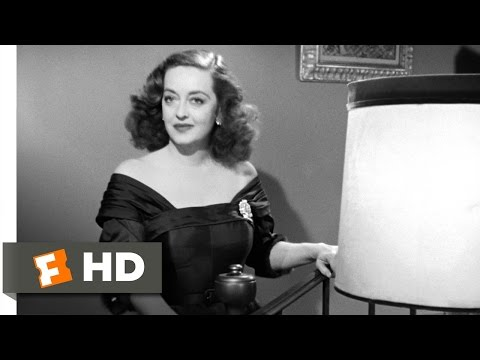 All About Eve 15 Movie CLIP  Fasten Your Seatbelts 1950 HD