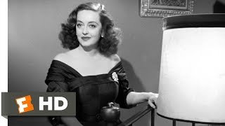 All About Eve (1/5) Movie CLIP - Fasten Your Seatbelts (1950) HD