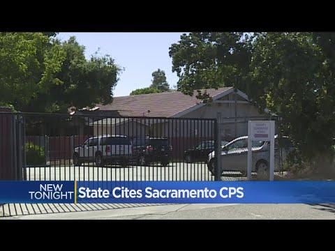 Sacramento County CPS Office Used To House Children
