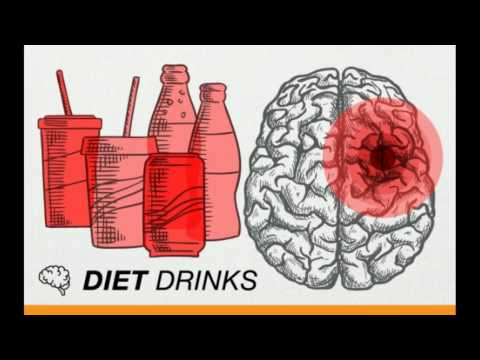 Diet drinks and soda can cause stroke and dementia - public awareness message -20th April 2017 study