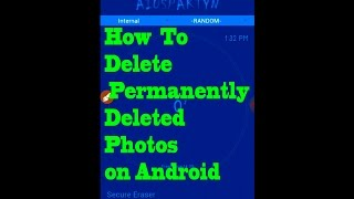 How To Delete Permanently Deleted Photos on Android
