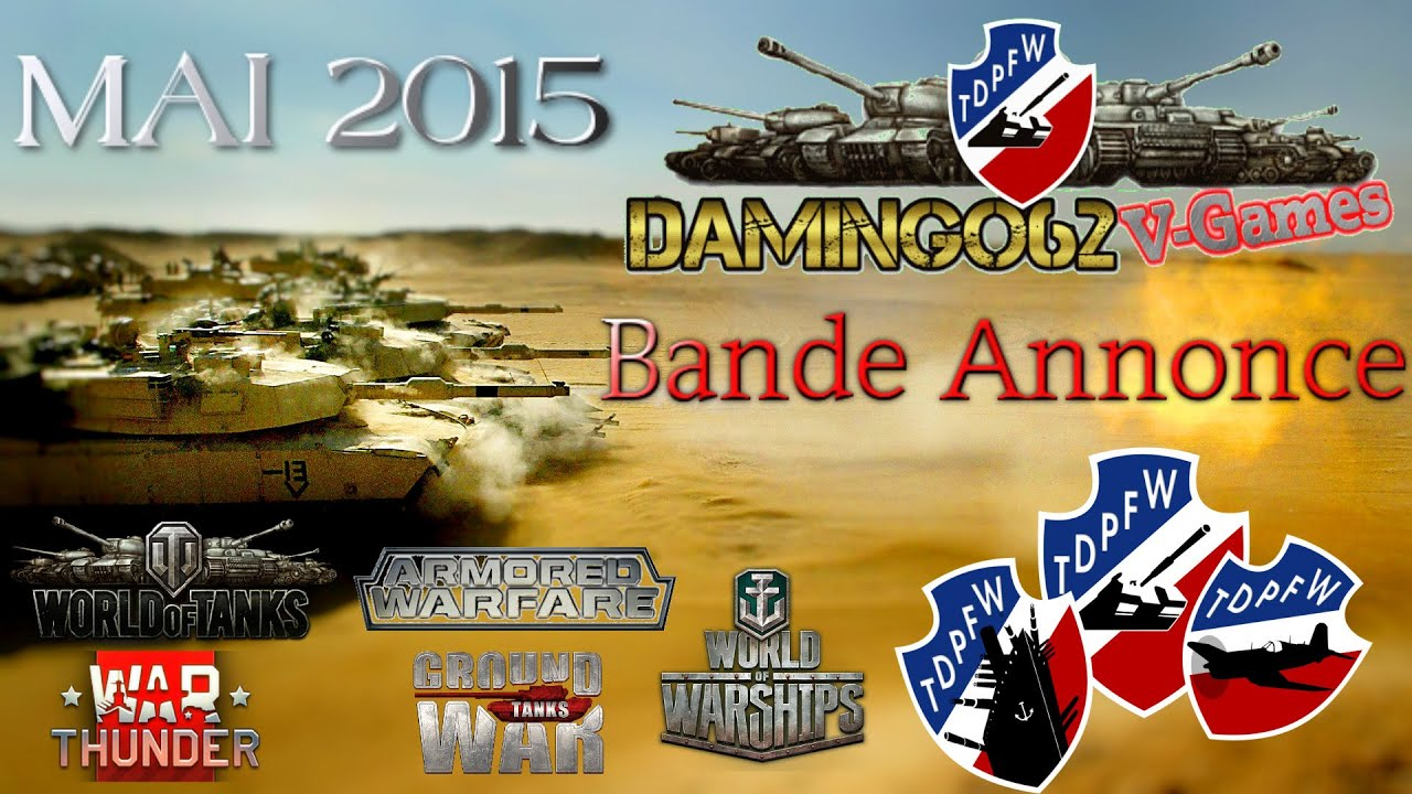 world of tanks bande annonce mai 2015 youtube. Black Bedroom Furniture Sets. Home Design Ideas