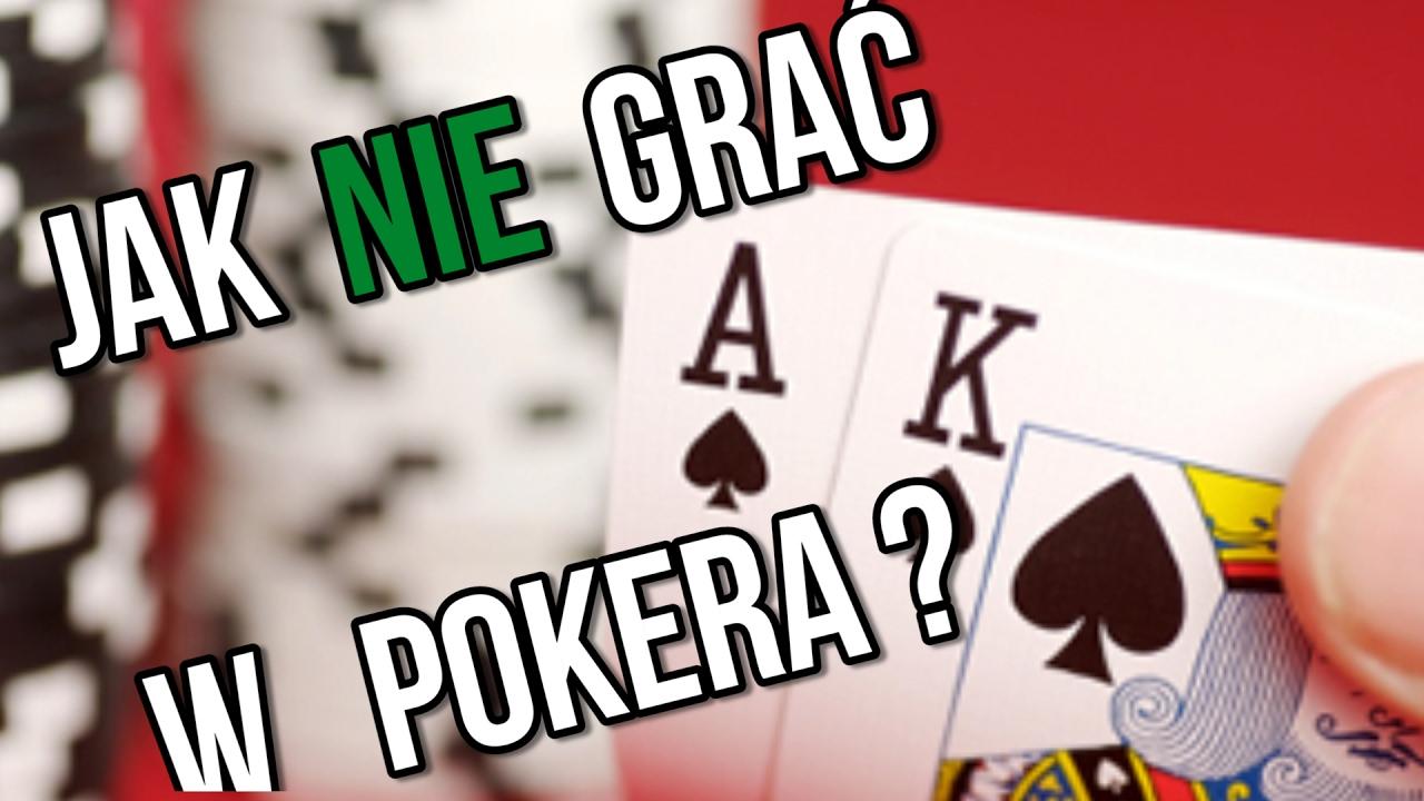 jak grać w pokera