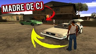 TRIP TO THE PAST in GTA SAN ANDREAS and I FIND THIS!
